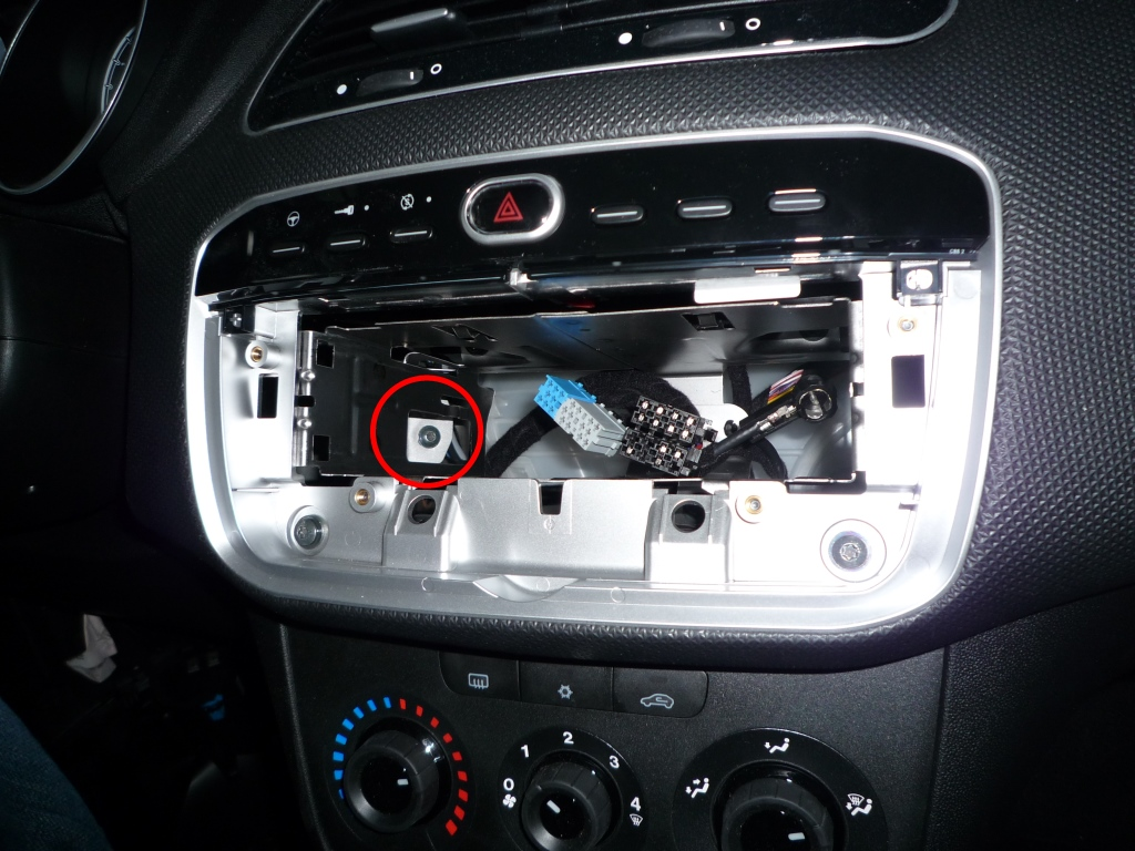 Technical  Remove Radio And Top Buttons For Sat Nav